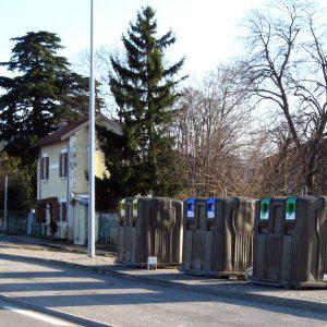 Tri sélectif Diémoz - Rond point des 4 routes