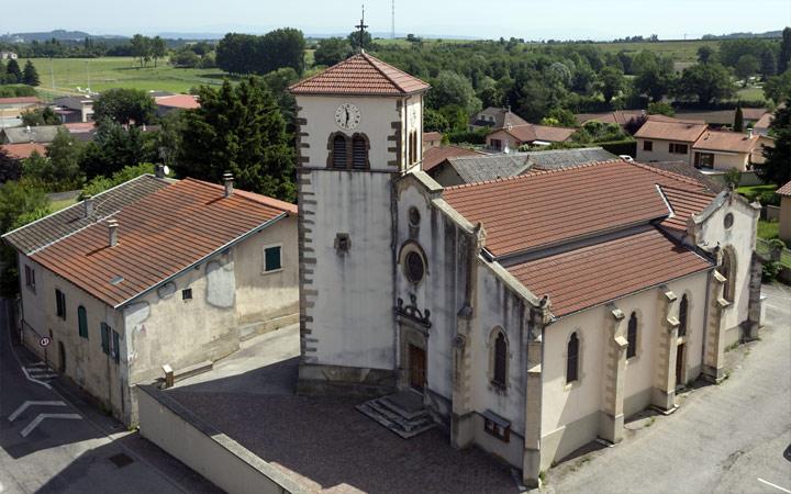 Patrimoine Diémoz - L'église
